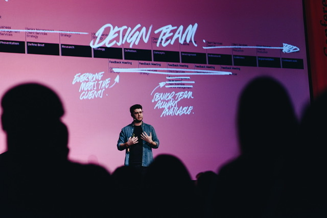 Ben Wright from DesignStudio at By Design Conference