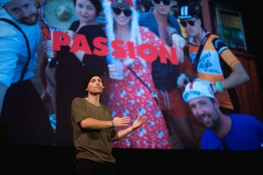 Mans Adler from Ustwo at By Design Conference