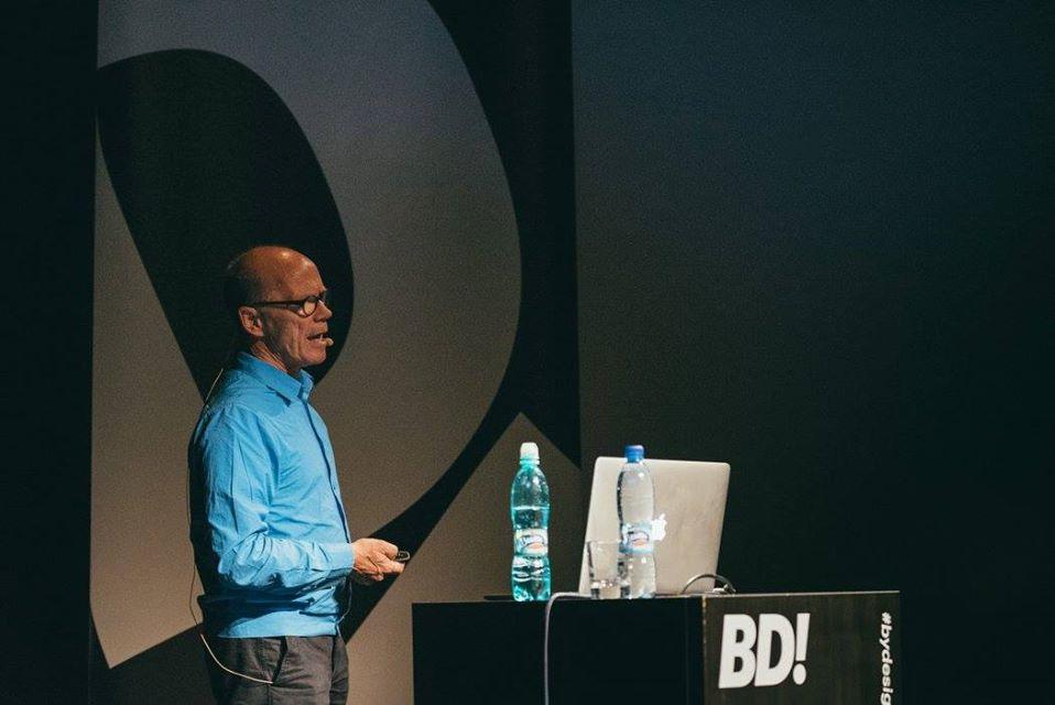 Erik Spiekermann at By Design Conference